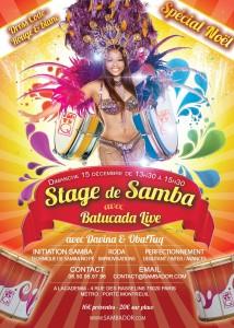 Stage Samba d'Or